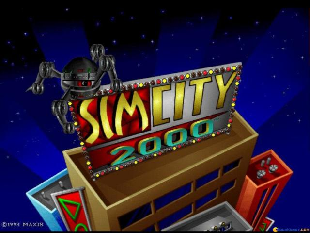 SimCity 2000 - game cover
