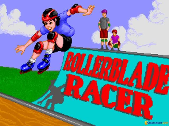 Roller Blade Racer - title cover