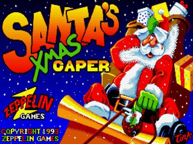 Santas Xmas Caper - title cover
