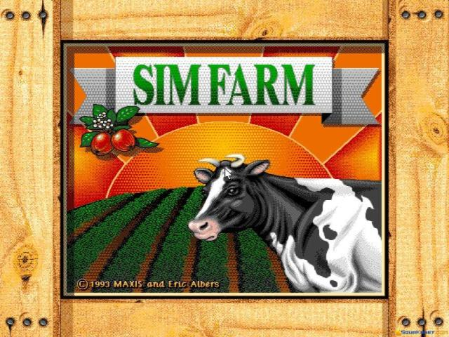 SimFarm - game cover