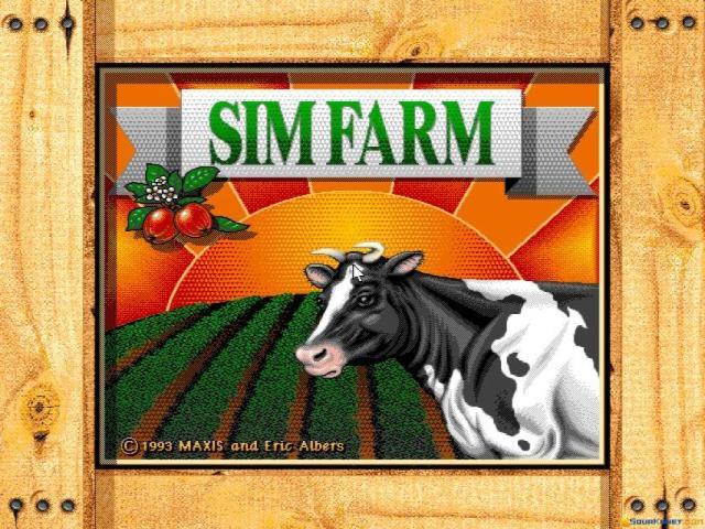 SimFarm - title cover
