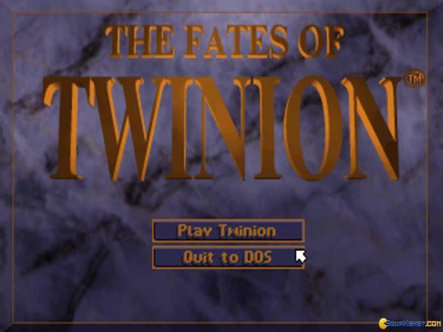 Fates of Twinion - title cover