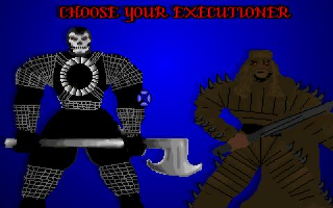 Executioners - title cover