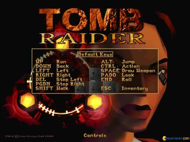 Tomb Raider - title cover