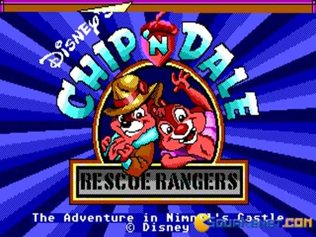Chip and Dale - game cover