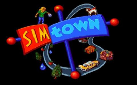 SimTown - title cover