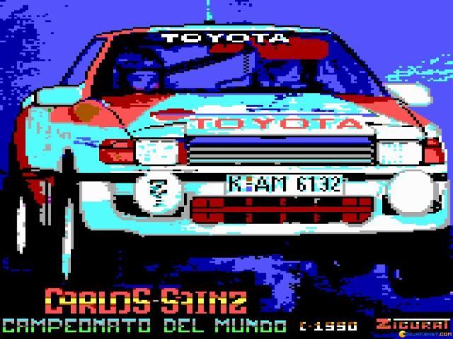 Carlos Sainz - title cover