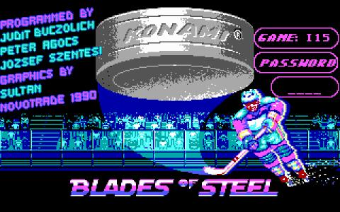 Blades of Steel - game cover