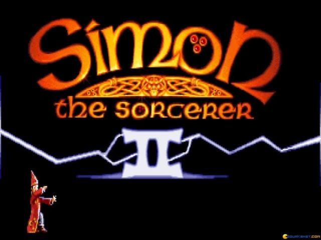 Simon the Sorcerer 2 - title cover