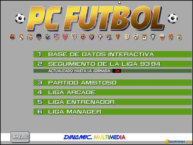 PC Futbol - title cover