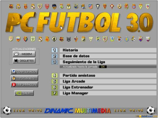 Pc Futbol 3 - title cover