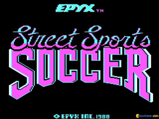 Street Sport Soccer - title cover
