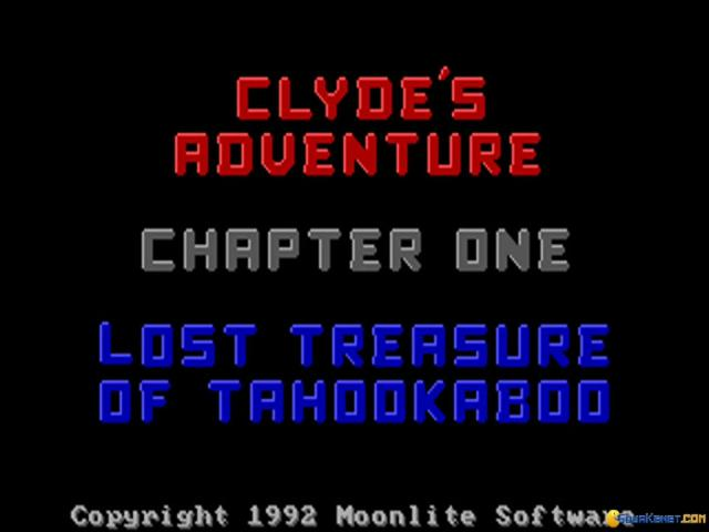 Clyde's Adventure - title cover