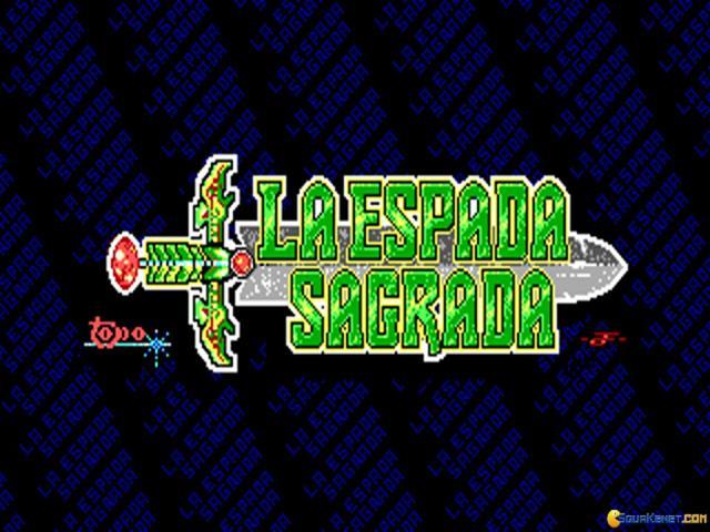 La Espada Sagrada - title cover