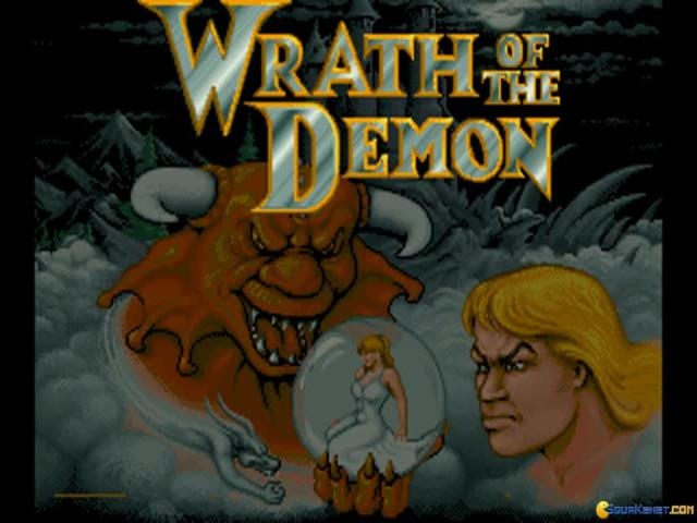 Wrath of the Demon - title cover