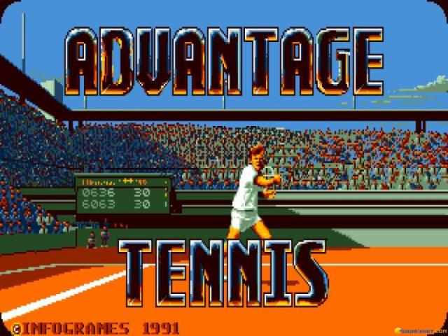 Advantage Tennis - title cover