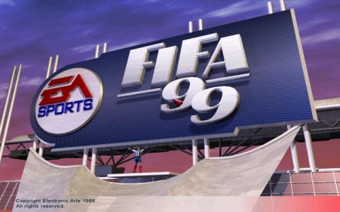 FIFA 99 - title cover