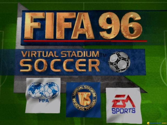 FIFA 96 - game cover