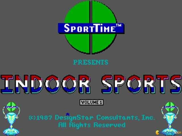 Indoor Sports - game cover