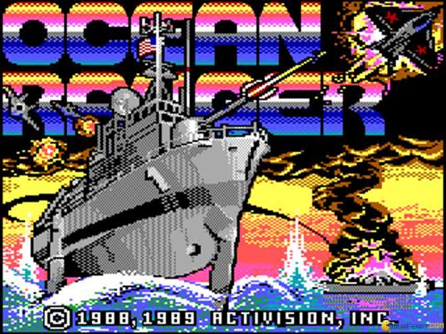 Ocean Ranger - game cover