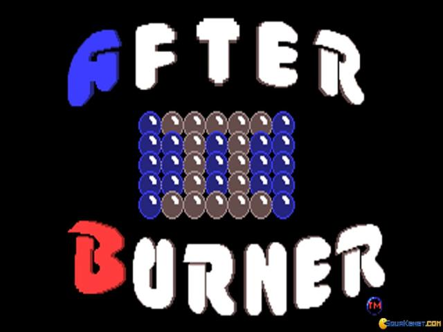 After Burner 2 - title cover