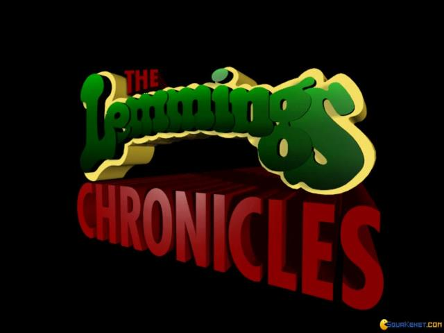 All New World of Lemmings - title cover