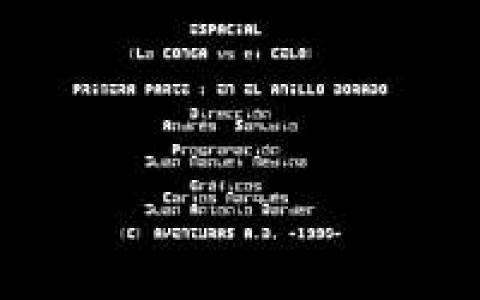 Aventura Espacial - title cover