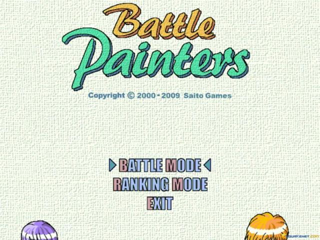 Battle Painters - game cover