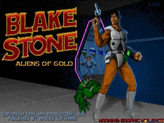 Blake Stone: Alien of Gold - title cover