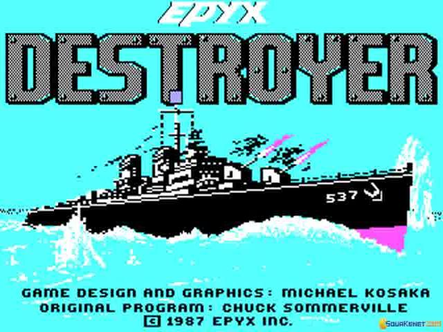 Destroyer - game cover