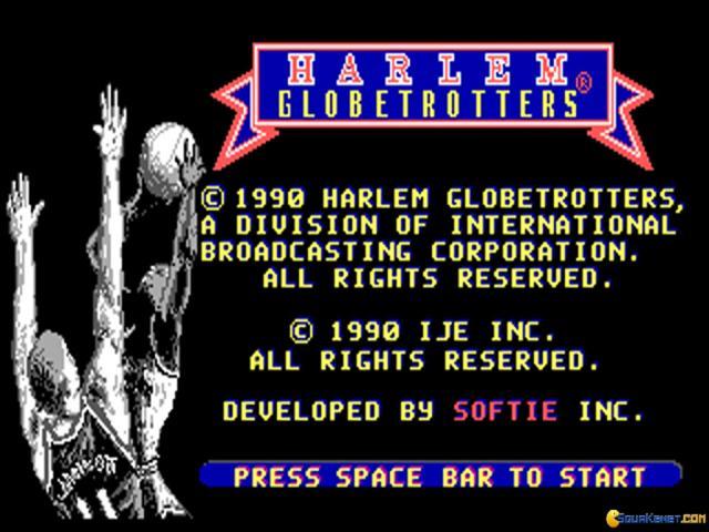 Harlem Globber Trotters - game cover
