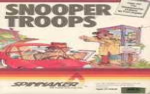 Snooper Troops 2 - title cover
