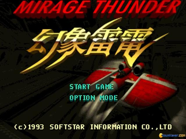 Mirage Thunder - title cover