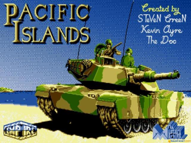 Pacific Islands - game cover