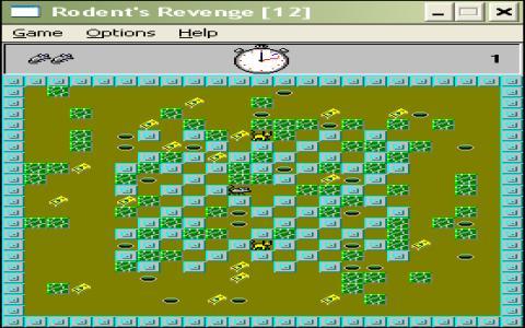 Rodent's revenge - game cover
