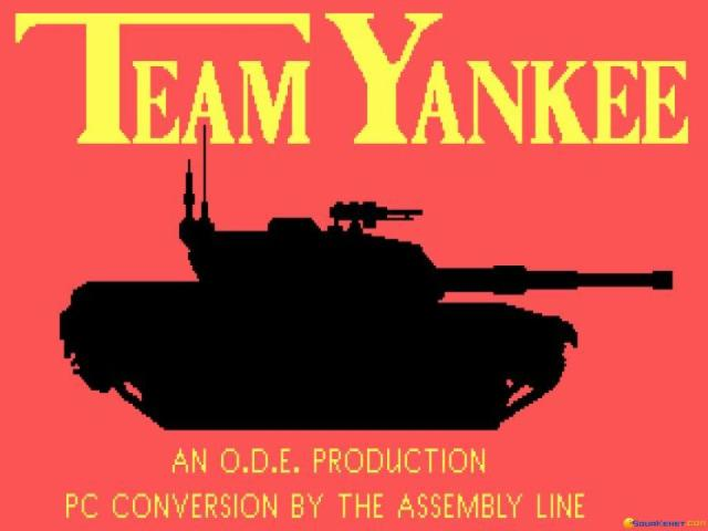 Team Yankee - game cover