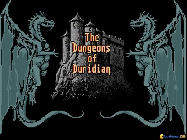 The Adventures of Maddog Williams in the Dungeons of Duridian - title cover