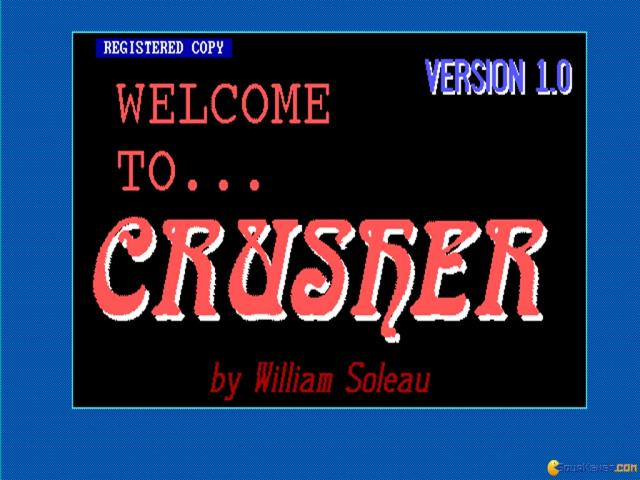 The Crusher - title cover