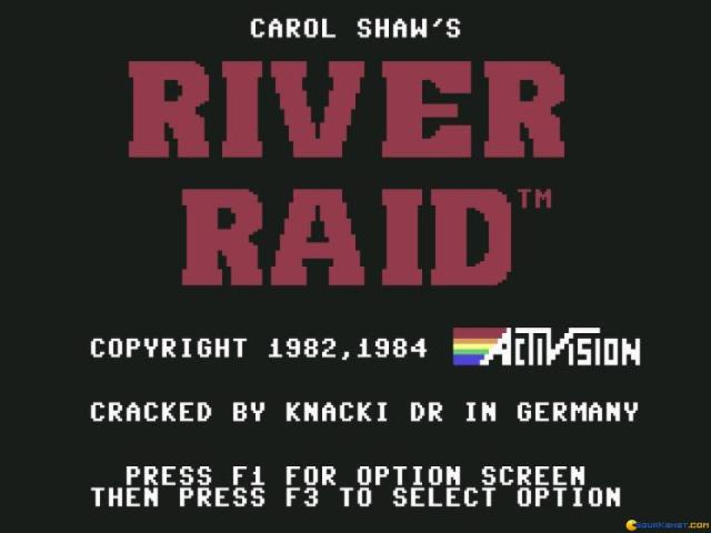 River raid - title cover