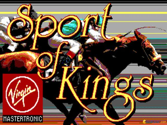 Sport of kings - title cover