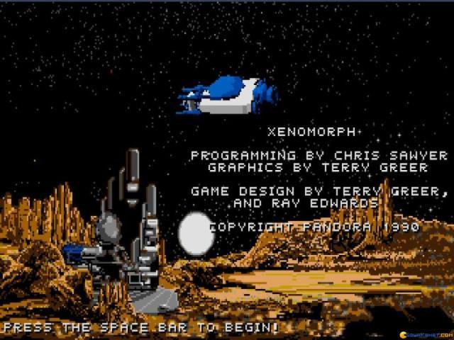 Xenomorph - title cover