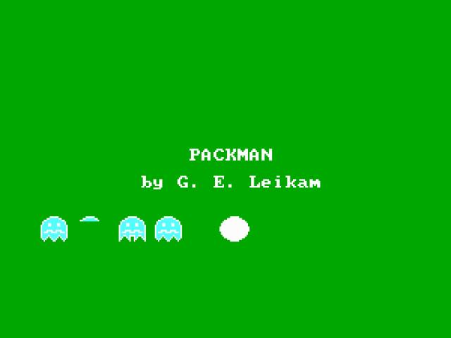 Packman - title cover