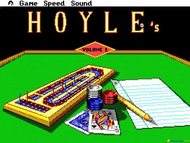 Hoyle's Book of Games Volume 1 - title cover