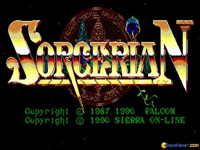 Sorcerian - title cover