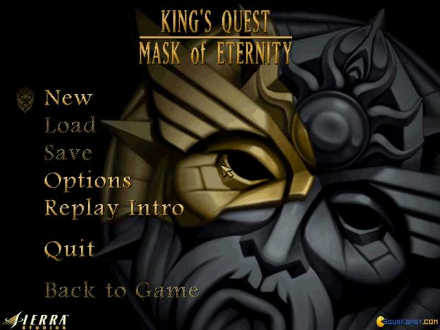 King's Quest 8: Mask of Eternity - title cover