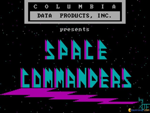 Space Commanders - title cover