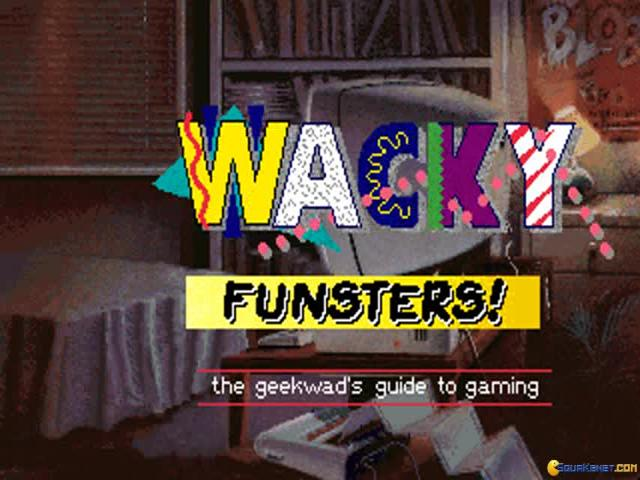 Wacky Funsters - title cover
