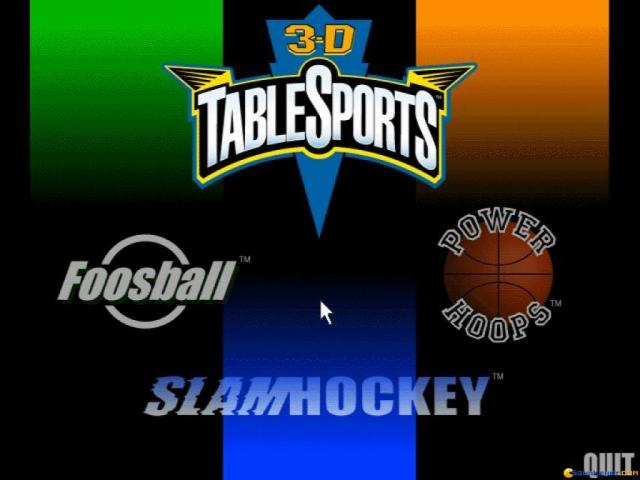 3D Table Sports - title cover