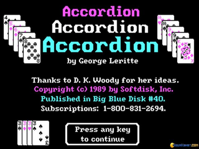 Accordion - title cover