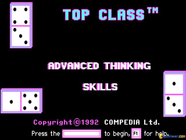 Advanced Thinking Skills - title cover
